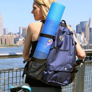 Aurorae Yoga Mat Backpack Navy Blue Like New